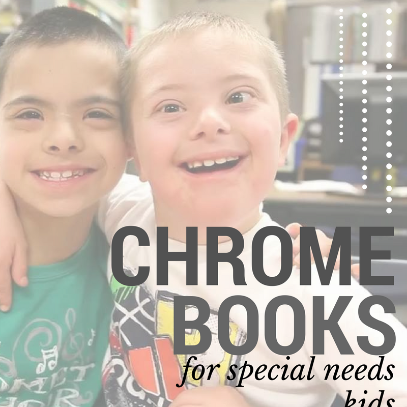 faceted media, chromebooks, special needs kids, special needs, Eastridge elementary